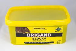 Brigand Rodenticide Blocks - 2kg