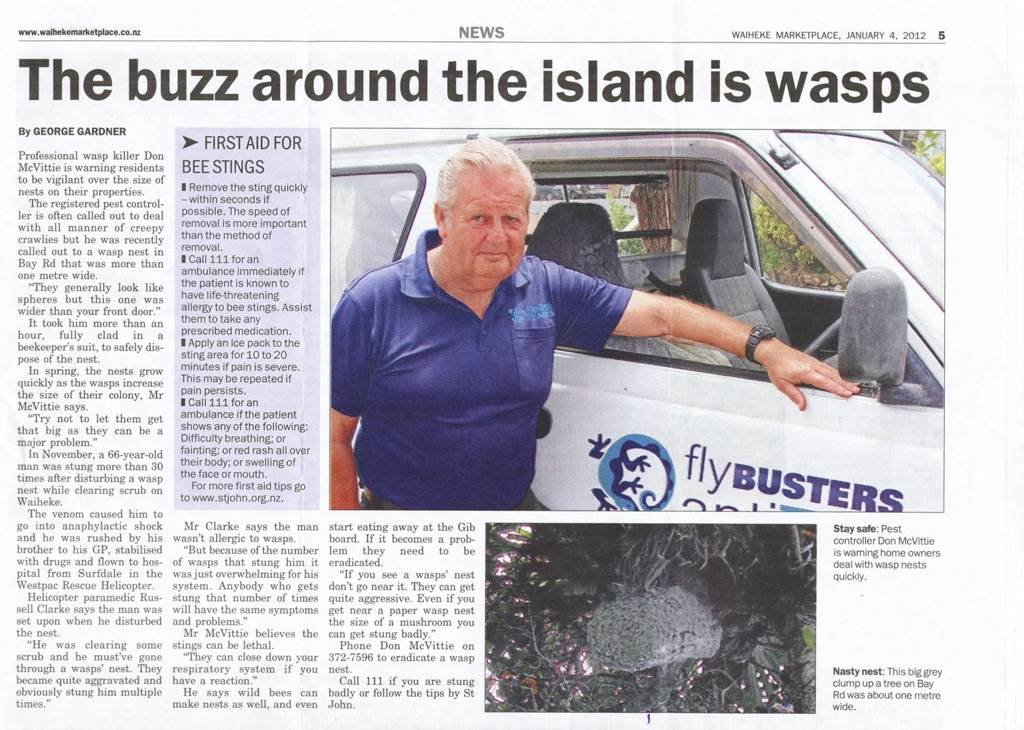 Flybusters antiants waiheke island new zealand for Ajadz indian cuisine