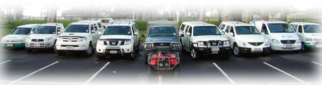 Flybusters Vehicle - Commercial Pest Control